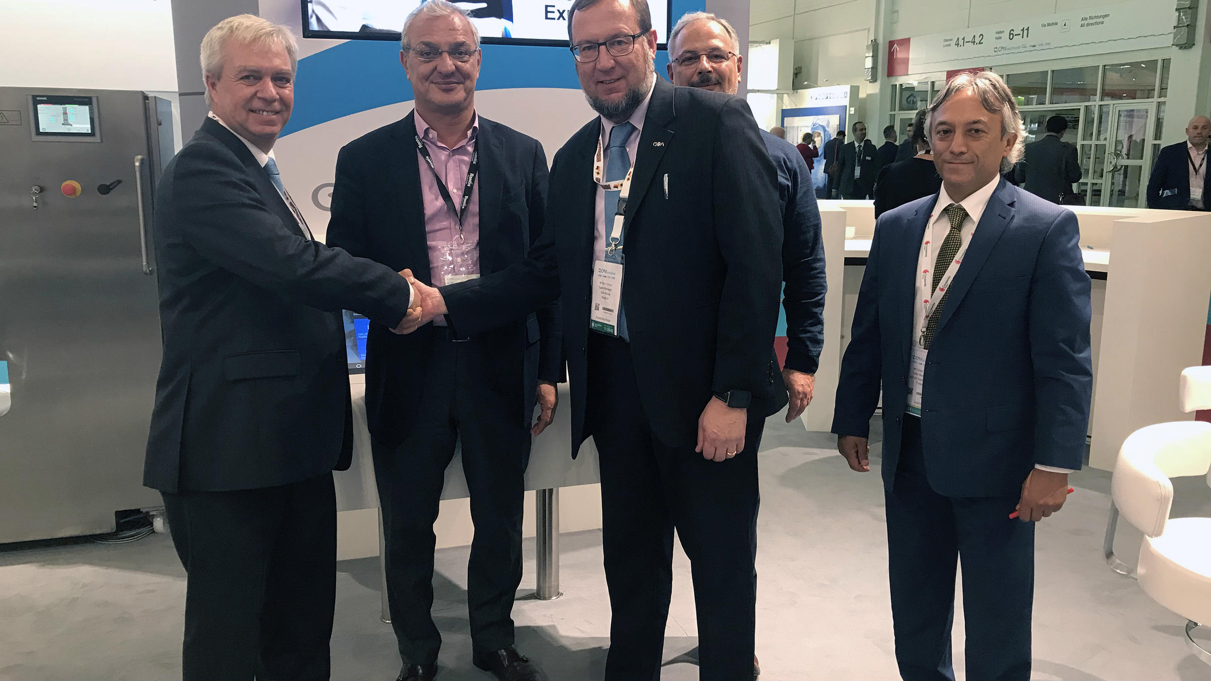 GEA seals the deal with farmatek as new customer at CPhI Worldwide