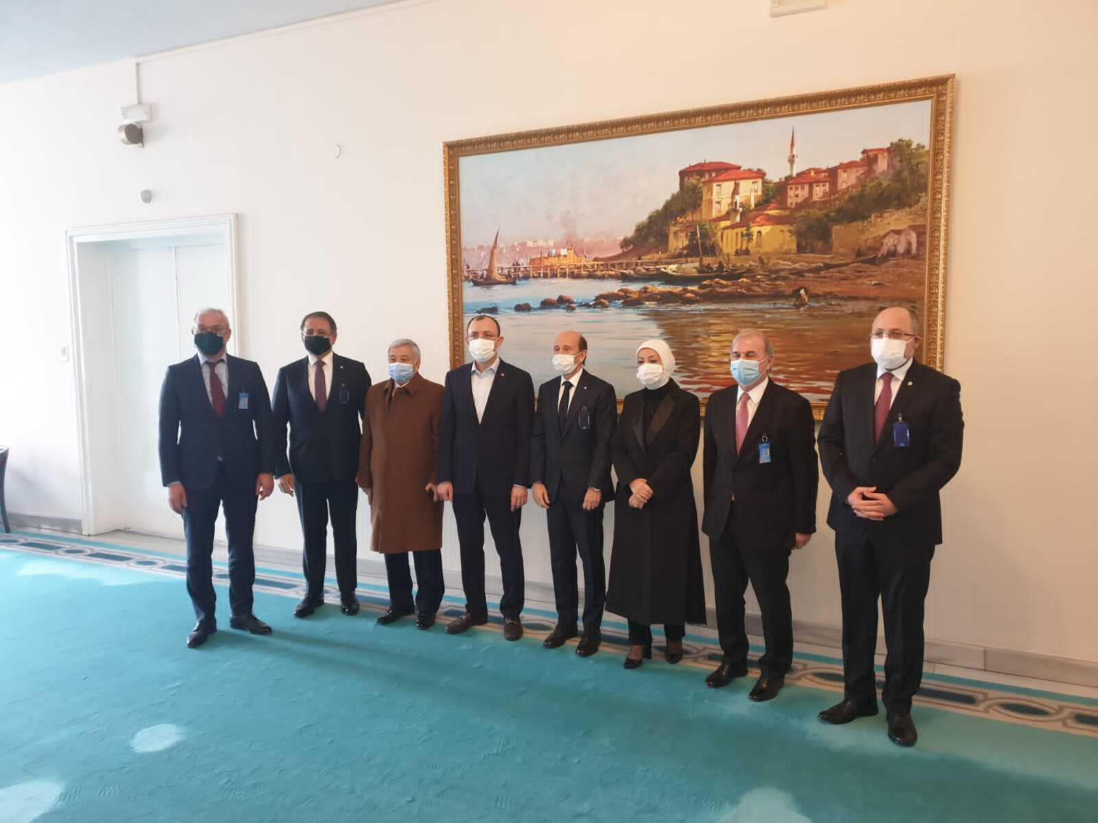 Yönetim Kurulumuzun Ankara Ziyareti